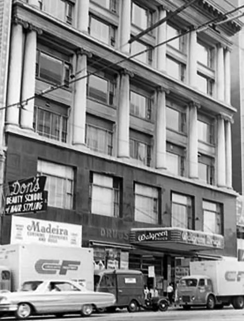 Walgreen's Drugstore, 985 Market, 1964