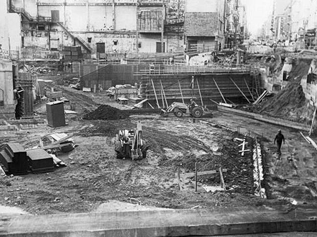 BART Construction_1971