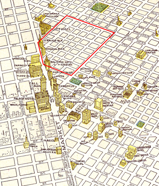 San Francisco Tenderloin Map Michigan Map