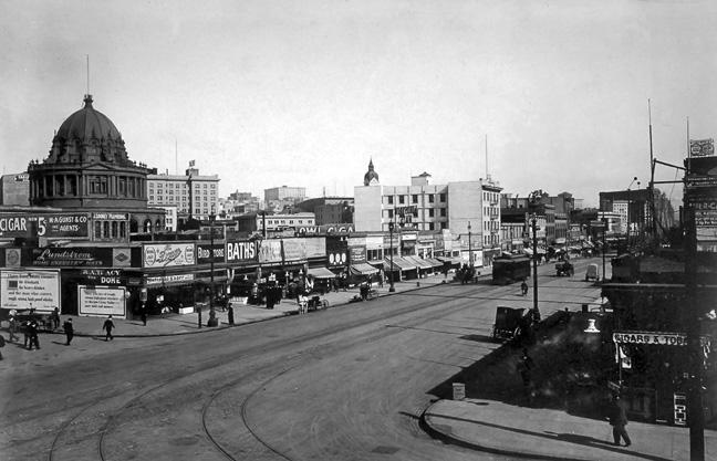 Market & 8th, 1912