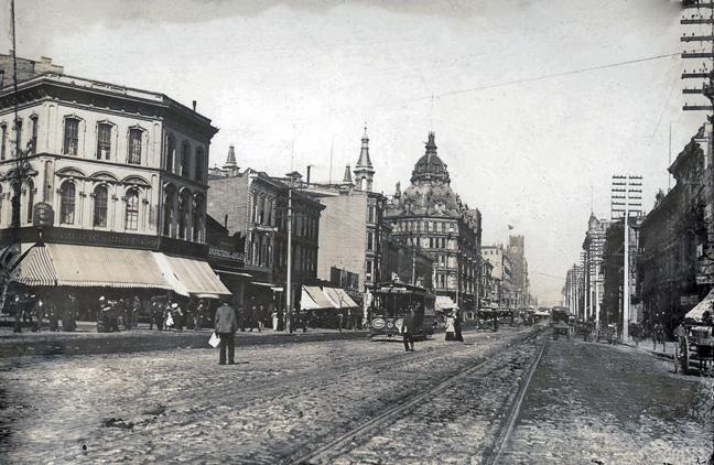 Market & Mason, c1890