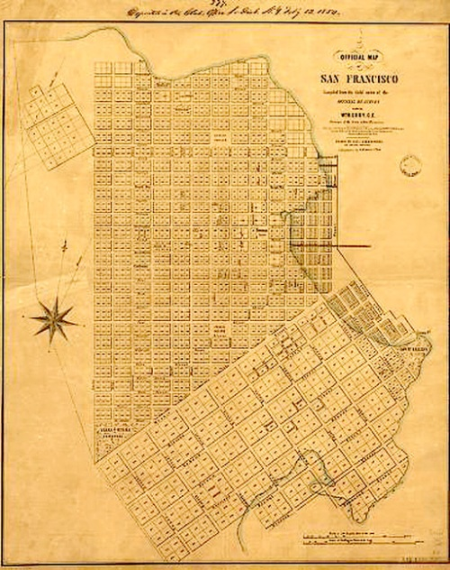 Official Map, 1847