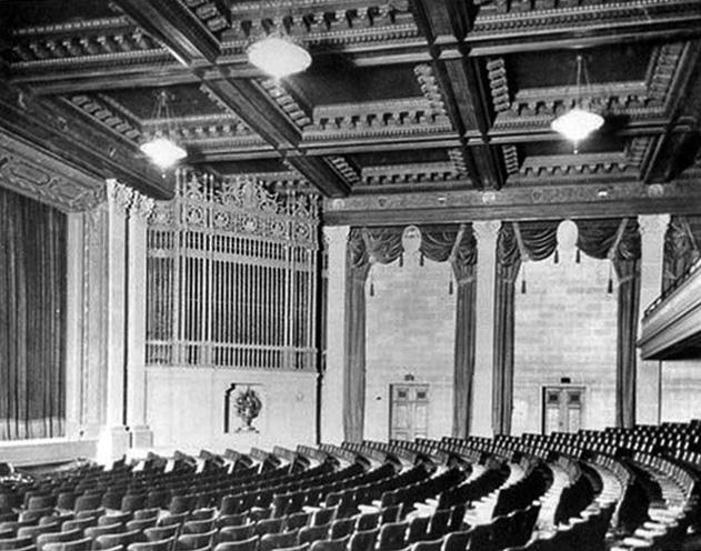 St. Francis interior, 1925