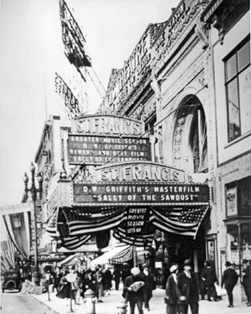 St. Francis marquee_1925