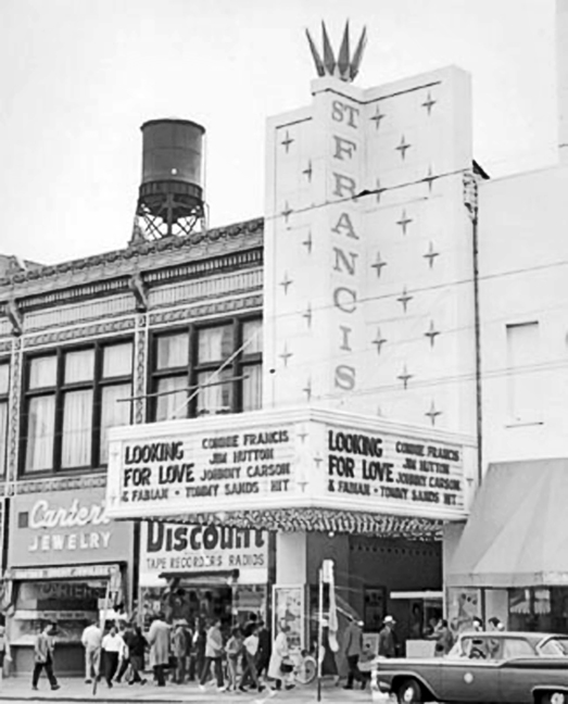 St. Francis marquee_1964