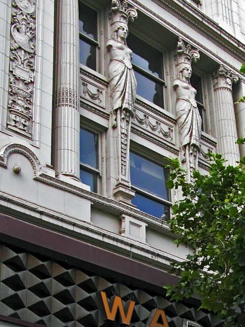 Warfield Caryatids