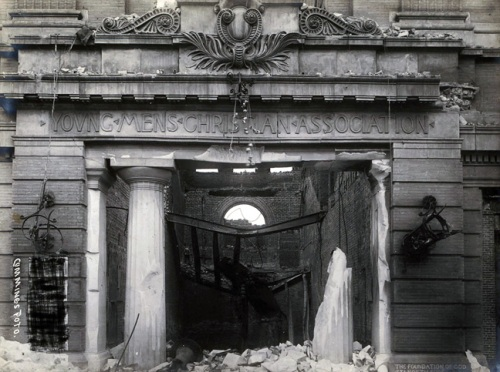 Entrance to Mason Street YMCA, 1906