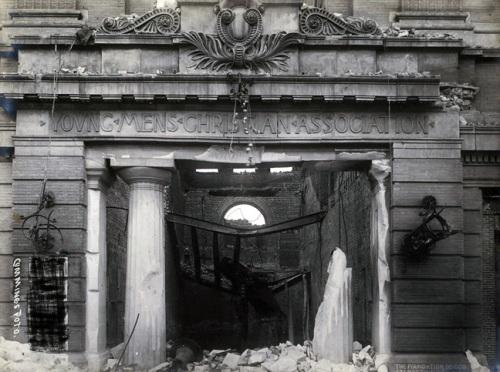 Entrance to Mason Street YMCA, 1906