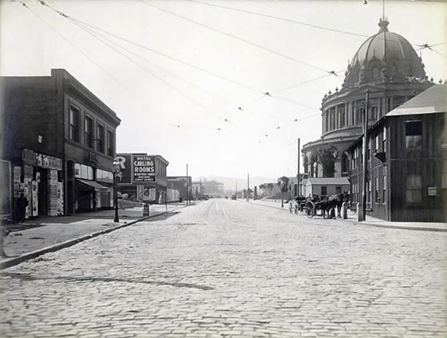 City Hall Avenue, 1910
