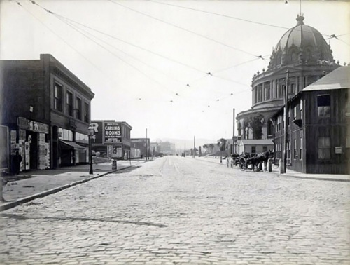City Hall Avenue, 1910