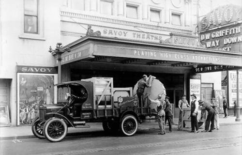 Savoy, circa 1911