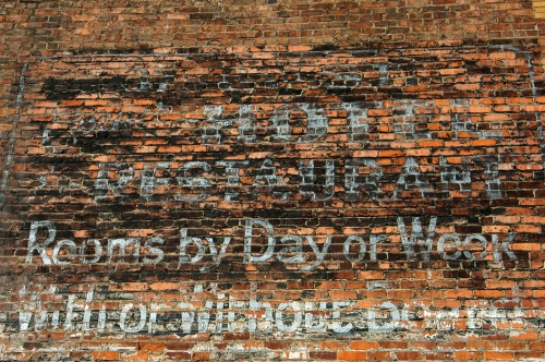 Ghost Sign #1